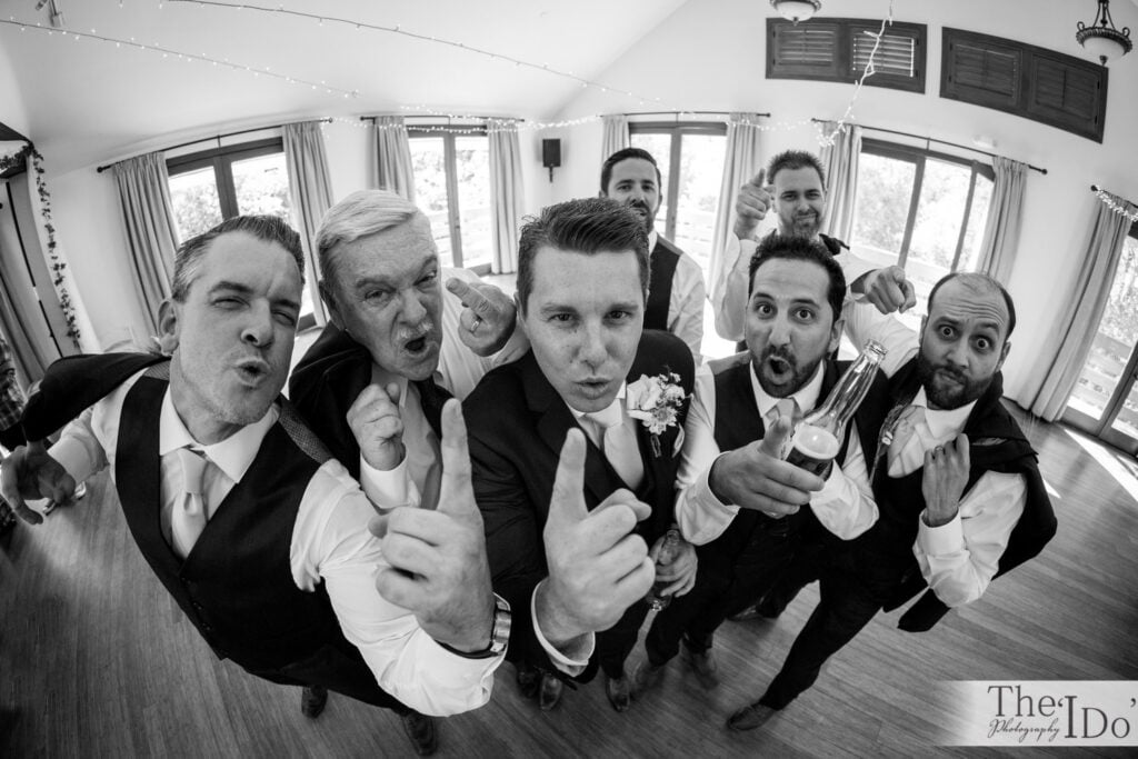 Fun Grooms Party Photo
