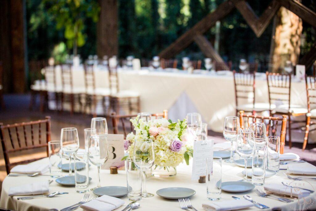 The Oaks Room Wedding Decor