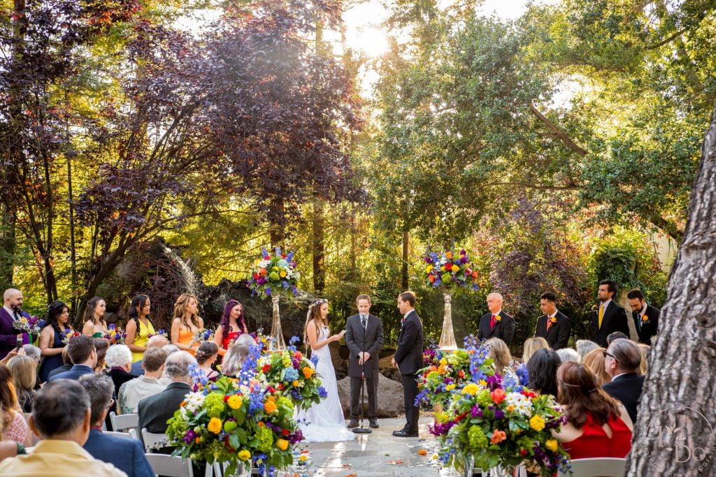 Wedding Ceremony at The Birchwood Room
