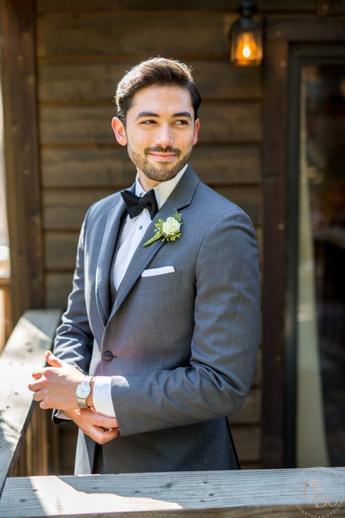 Guesthouse near Redwood Room is perfect for Groom's Prep