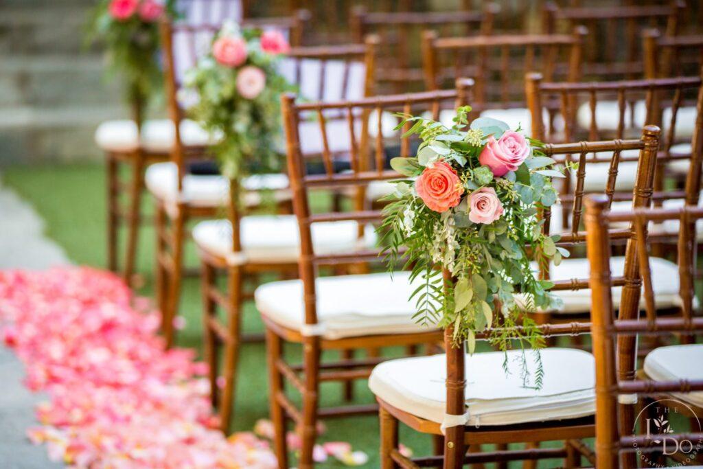 Ceremony Flower Decor