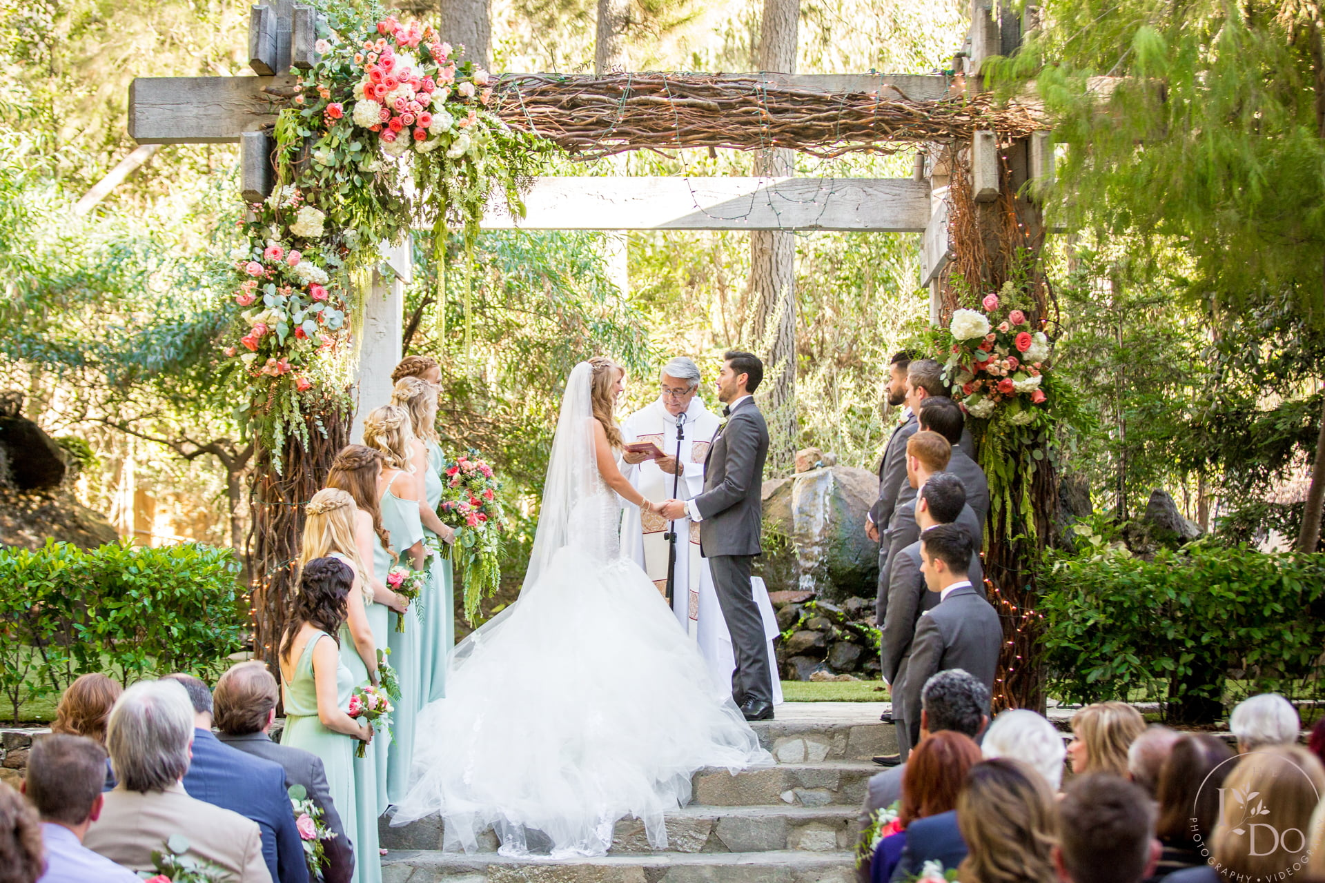 Calamigos Ranch, The Redwood Room – Wedding Photography and Videography