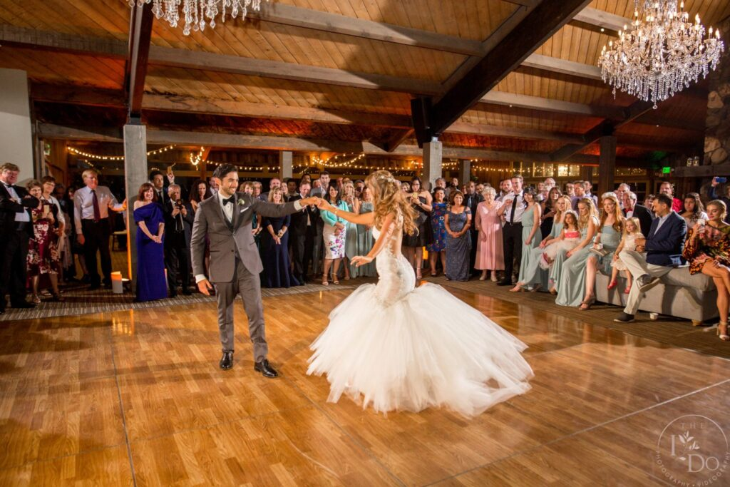 First Dance at Redwood Room