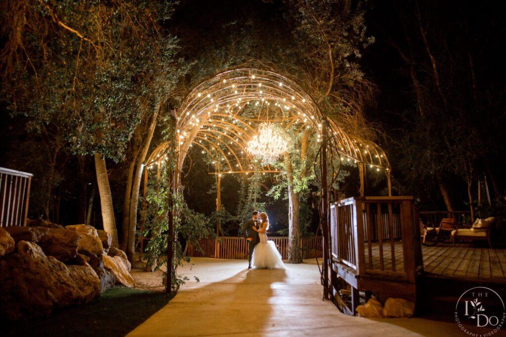 Dramatic Wedding Photo At Calamigos Ranch