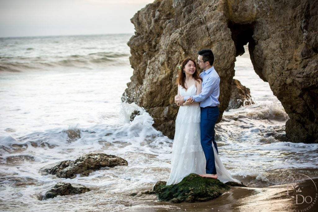 Malibu El Matador Wedding Photography