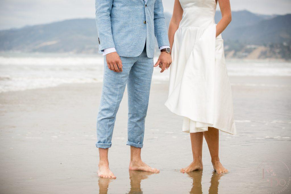 Beach wedding photography Los Angeles