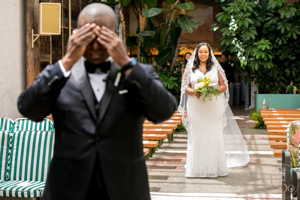 Wedding First Look - Los Angeles Wedding Photography and Videography